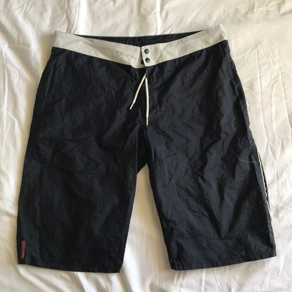 f160d6b820 Prada swim trunks. M_5cb375df16105d67ba194351